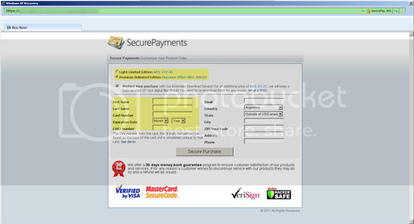 Windows XP Recovery - Rogue  Windows-XP-Recovery-fake-IE