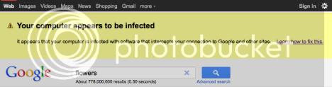 Google alerta a sus usuarios: «Tu ordenador parece estar infectado» Avisogoogle