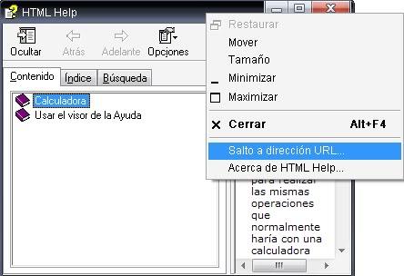 Acceder a Internet desde la calculadora de Windows (Casos extremos) Calc2