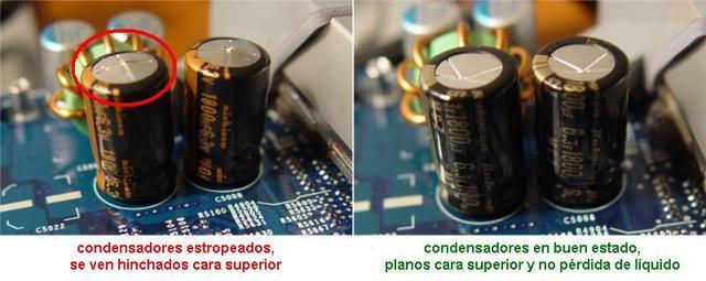 Reparando monitor LG Flatron W2241S - LCD Condensadoreshinchados