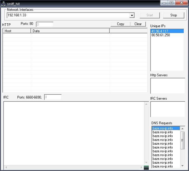 Buscando malware en el P2P: Open.exe File9