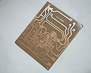 Fabricación casera de placas de circuito impreso. Im8