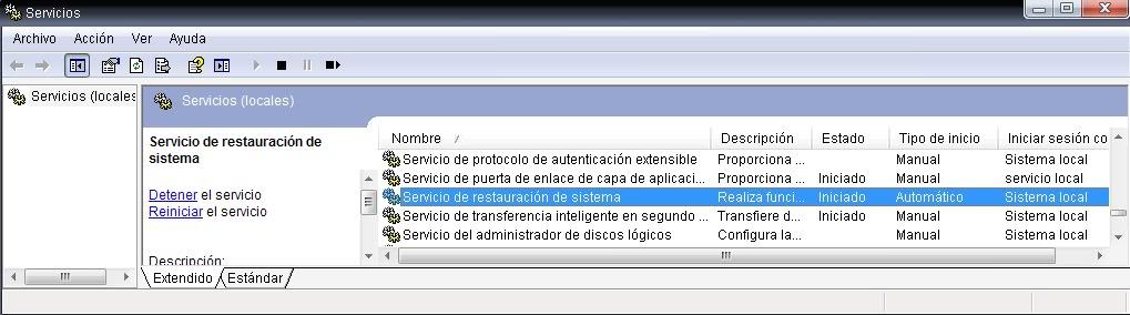 """Ver el contenido de la carpeta """"System Volume Information""""  Restp4"""