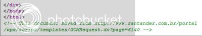 Envenenamiento de DNS: ataque de phishing a banco en Brasil Santander-phishing-source