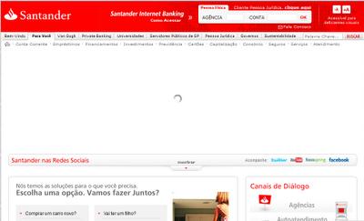 Envenenamiento de DNS: ataque de phishing a banco en Brasil Santander-phishing