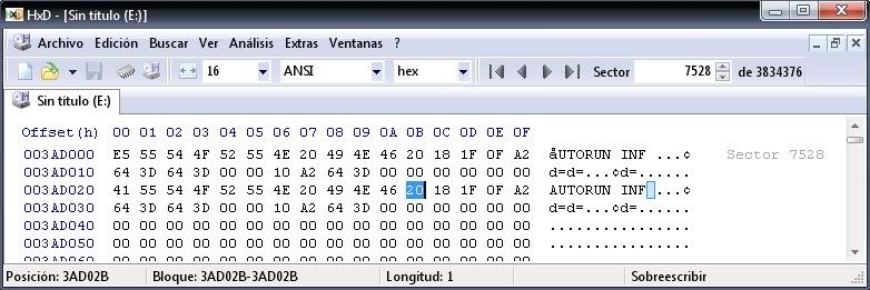 """Bloquear el """"autorun.inf"""" en unidades USB  Autorun2"""