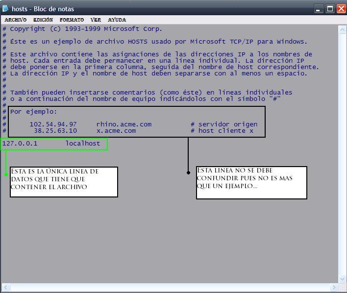 Tutorial de análisis del PC con SysInspector de ESET Captuirahosts