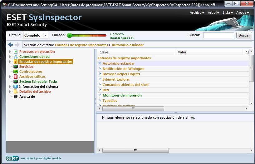 Tutorial de análisis del PC con SysInspector de ESET Eset3