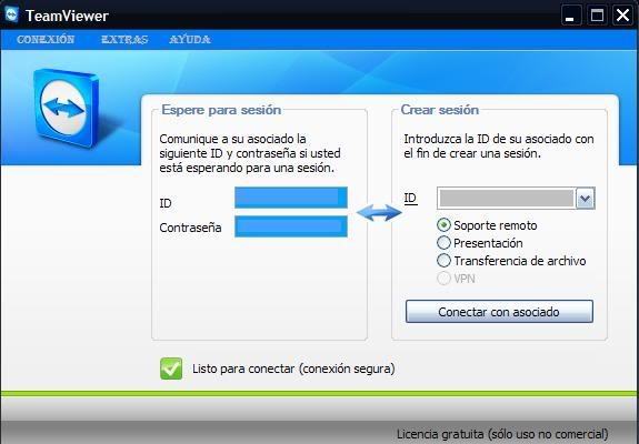 Teamviewer (Control remoto de PC´s) Teamviewer-1