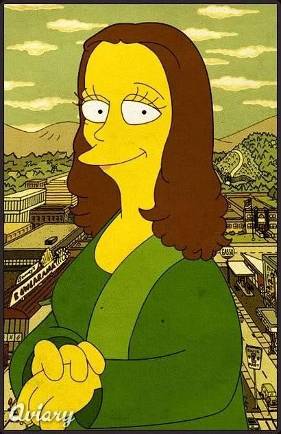 Razne Mona Lize Mona-simpson