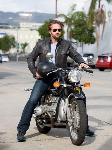 Gerard Butler: Motorcycle Man Motorcycledude2