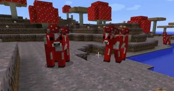 Guía de Mobs Minecraft-19-Update-Mooshrooms