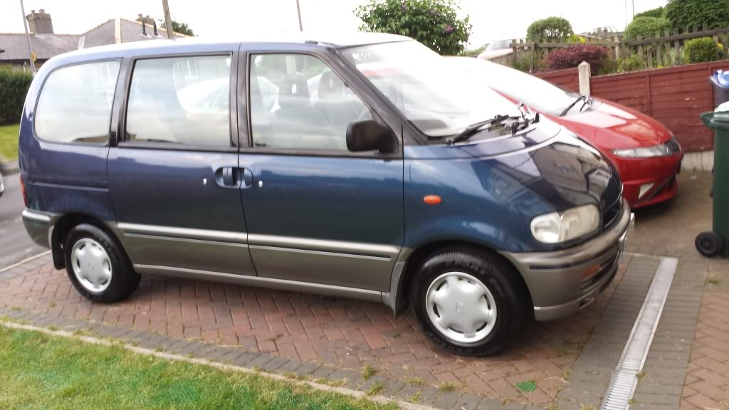 Hello, newbie interested in a mini camper van conversion 20130611_203108