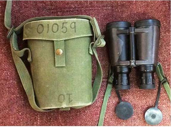 Elcan Binocular Case 1970s era Bino