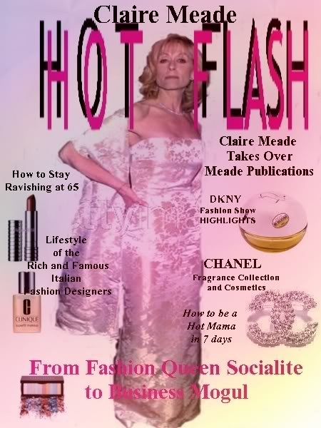 MODE and HOT FLASH  magazine editions Hotflash