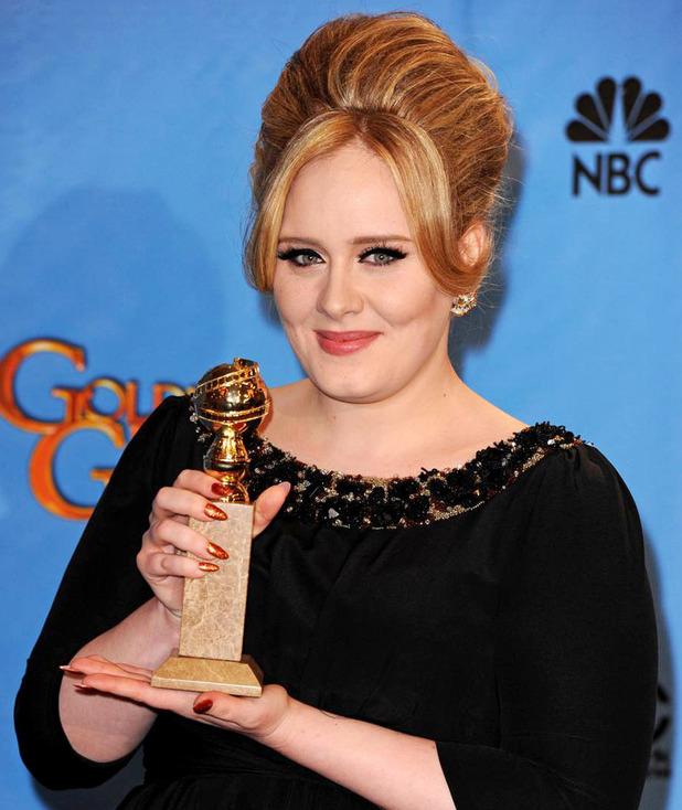 Imágenes >> Photoshoots, Revistas, Conciertos... - Página 4 Adele-golden-globes-2013