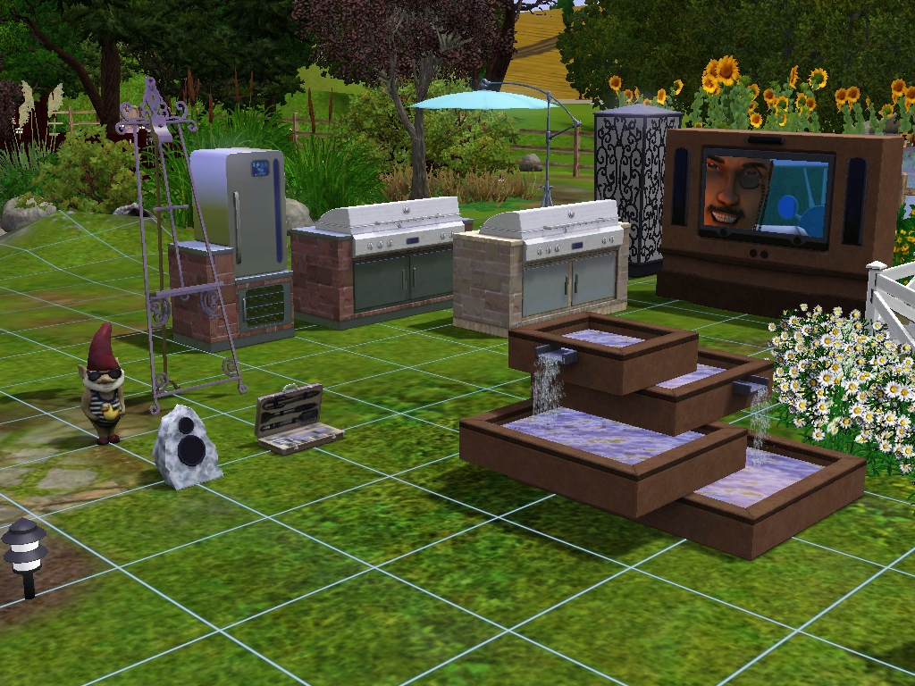 The Sims 3: Отдых на природе / The Sims 3: Outdoor Living Stuff  63d6afd17be21404a18b9454f79008a8