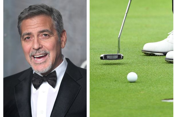 George Clooney is the person most people in Glasgow would like to play golf with Gg