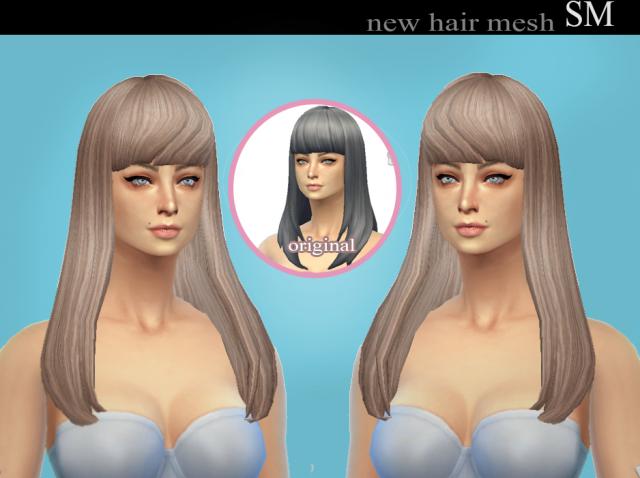 Прически для The Sims 4 Женские. F1d119e75d9c425d8372786a58258b87
