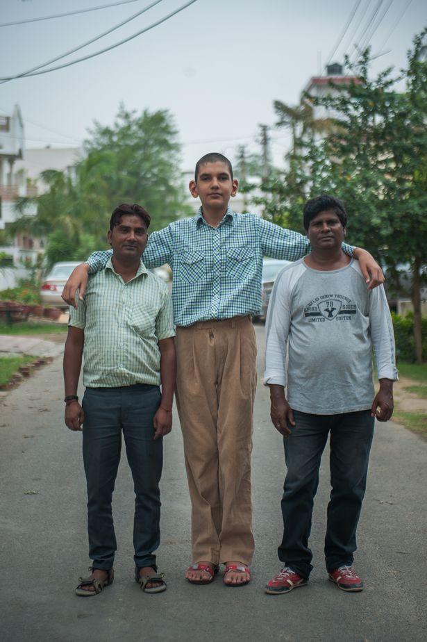 La historia del niño más alto de la India, Karan Singh PROD-DSC_3675