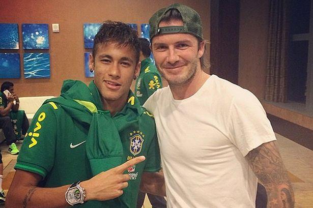 ¿Cuánto mide Neymar? - Altura y peso - Real height Neymar-and-Beckham-MAIN