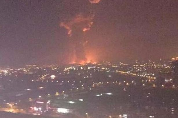 UPDATE: China: Massive Explosion Rocks Chinese Port city of Tianjin: Many feared dead  Tianjin