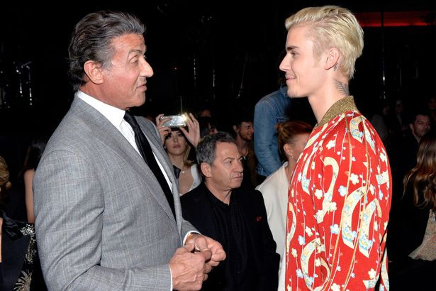 ¿Cuánto mide Sylvester Stallone? - Altura - Real height Bieber-and-sly