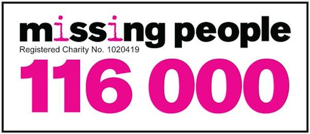 Inside Missing People - the charity finding lost loved one for distraught families Missing-People-helpline