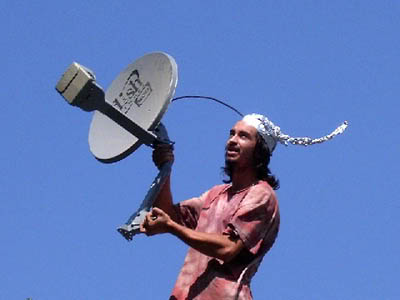 Satellite Hoax - Satellites Do Not Exist!  Tinfoil_hat_antenna