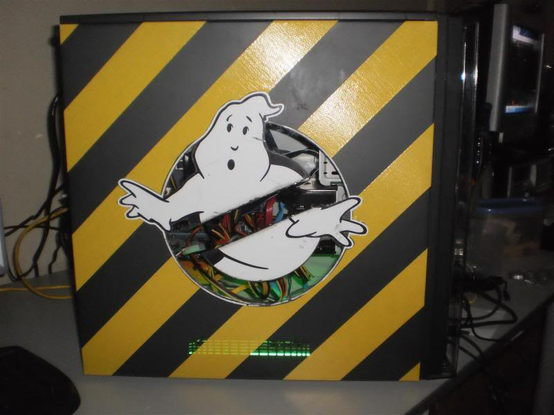 my other ghostbusters computer case mod P1100028Large