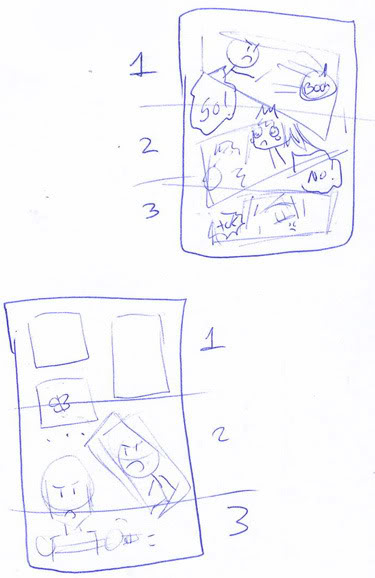 Making manga for starters: Putting it all on paper Info3