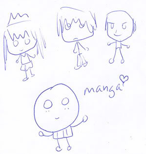 Making manga for starters: Putting it all on paper Muffinlook2