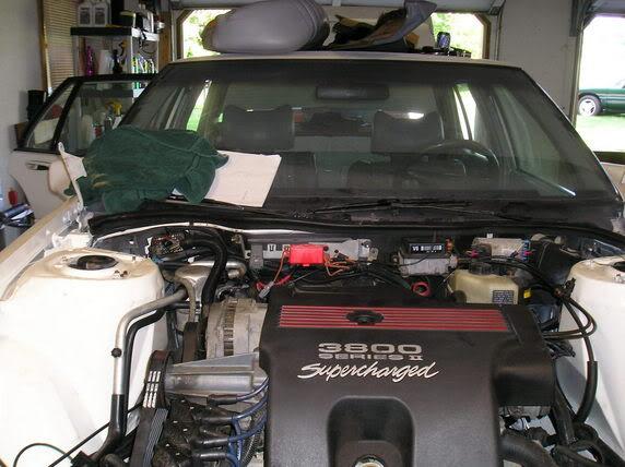 FAQ: Series I to Series II / Series III Engine Swap 072405Supercharged