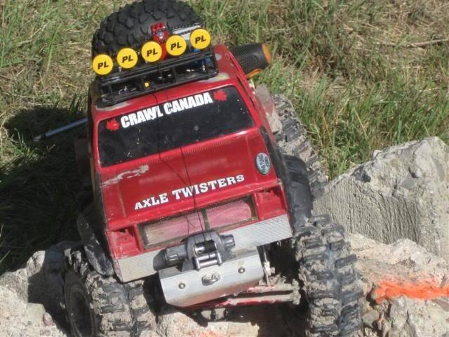 "Axle Twisters ""Tough Truck Contest"" 09 Jamboree TTC09052"