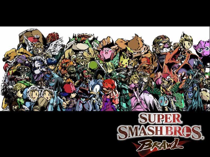 Examples of my artwork Smash_bros_brawl