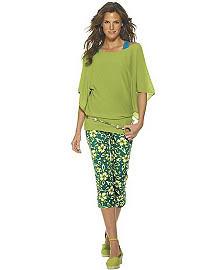 Crinkled silk cascade top $4.99  Reg. $29 + 20% off , Chenille tunic sweater $14.99  Reg. $29 + 20% off - Newport News 6S3087A