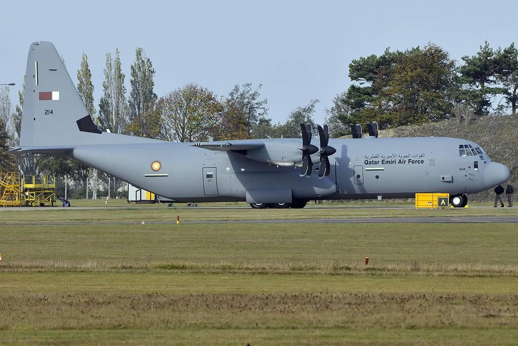 موسوعة طائرة النقل التكتيكي الاحدث C-130J Super Hercules بجميع أنواعها   Q1