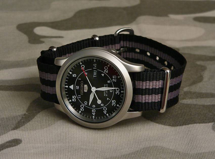 Question Hamilton Khaki Navy Seiko5MilitaryBond