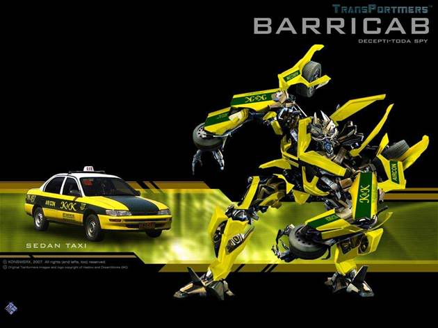 Transformers the new breed Barricab