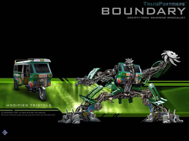 Transformers the new breed Boundary