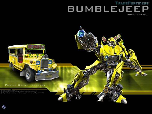 Transformers the new breed Bumblejeep