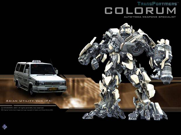 Transformers the new breed Colorum