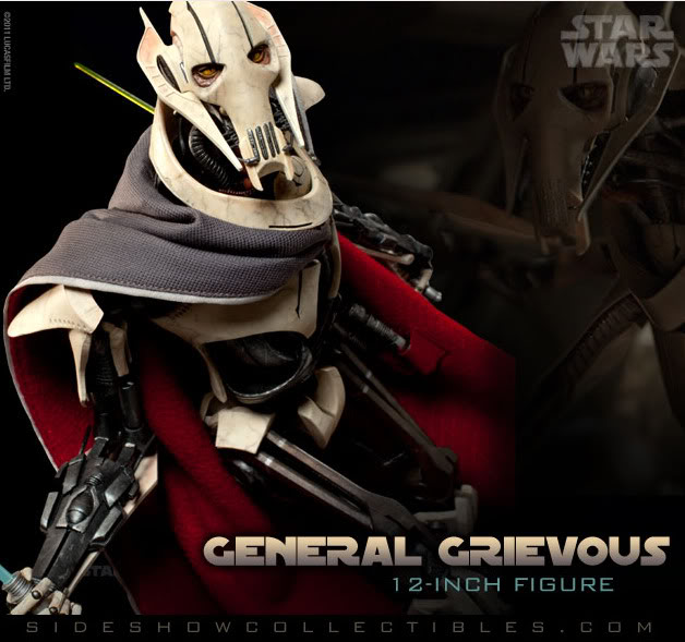 [SideShow] Star Wars: General Grievous 1/6th Scale Figure Gg