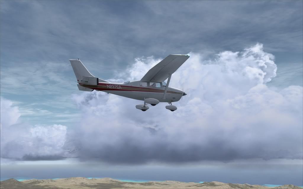 [FSX] De Fuerteventura a Gran Canaria em Cessna ScreenHunter_0145