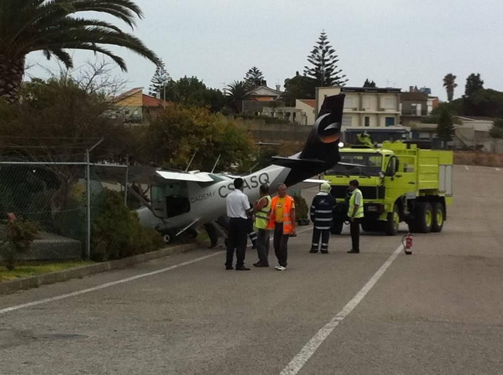 Acidente com Cessna em Portugal IMG_2349