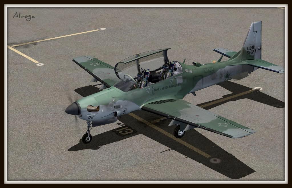 [FSX] A29b Super Tucano Força Aérea Brasileira Tucano1