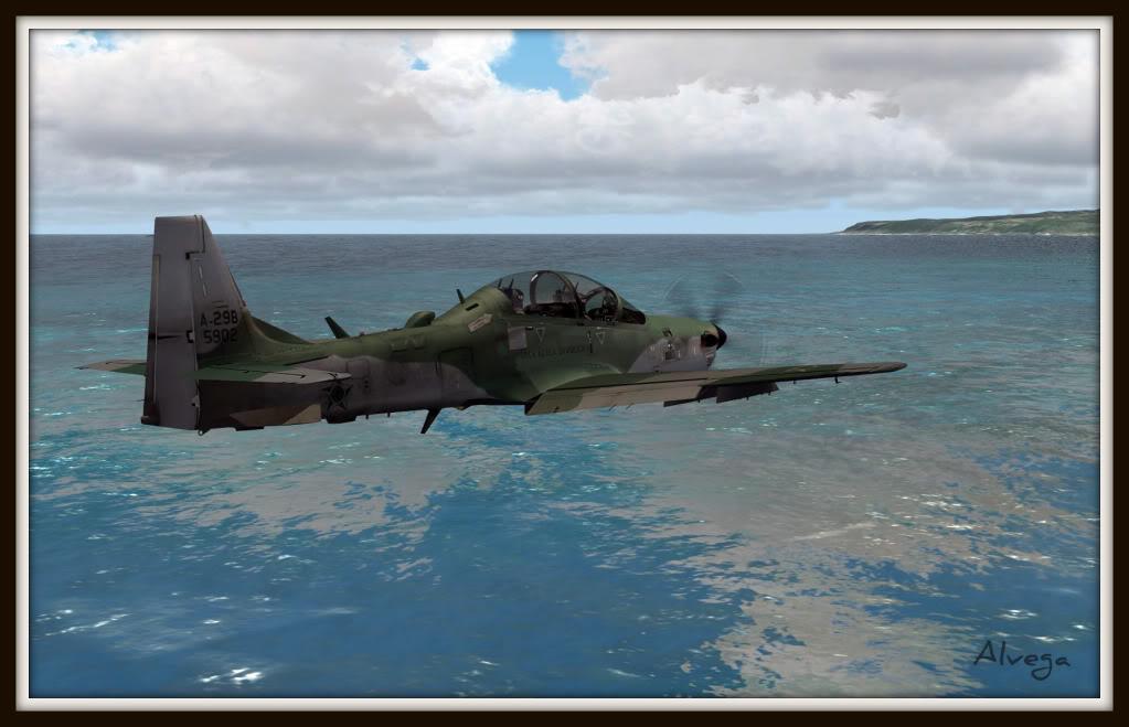 [FSX] A29b Super Tucano Força Aérea Brasileira Tucano2