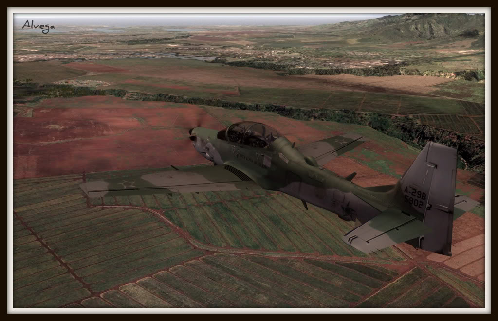 [FSX] A29b Super Tucano Força Aérea Brasileira Tucano4