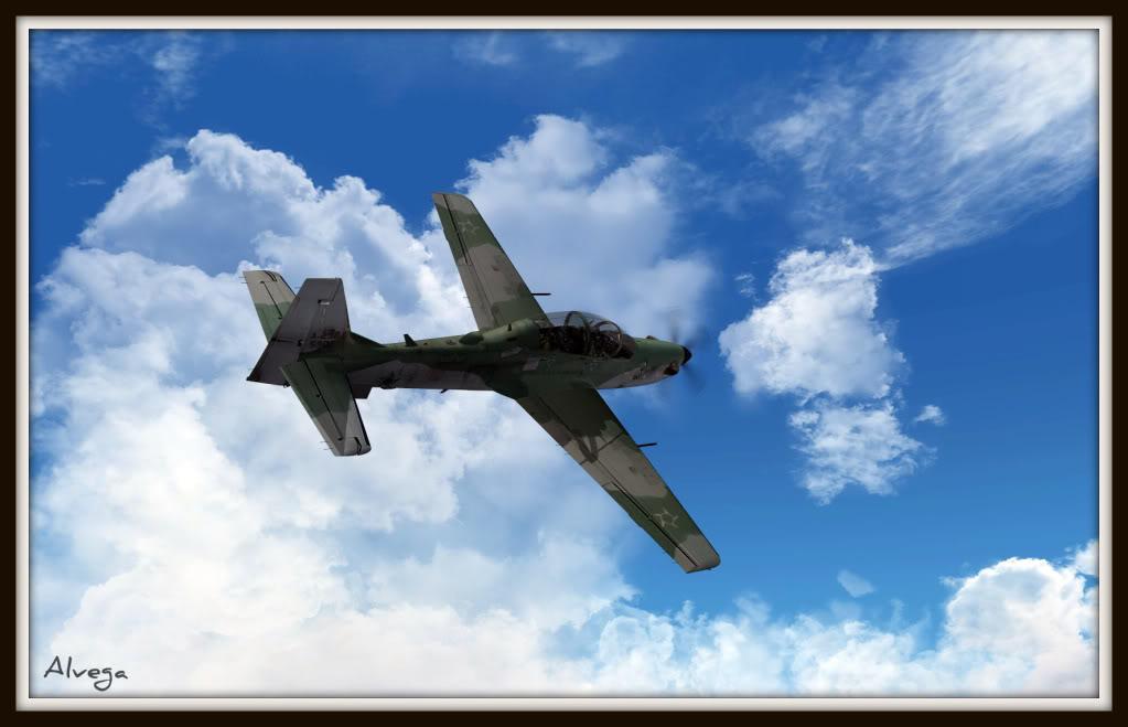 [FSX] A29b Super Tucano Força Aérea Brasileira Tucano5
