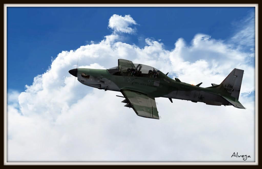 [FSX] A29b Super Tucano Força Aérea Brasileira Tucano8